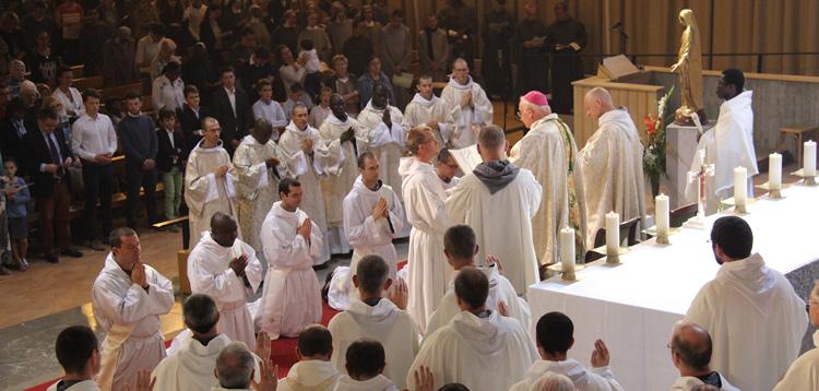 Ordinations des frères de Saint-Jean
