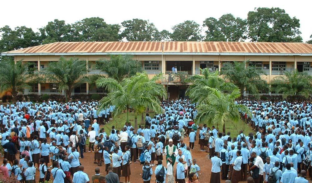 L'Institut Saint-Jean à Yaoundé au Cameroun