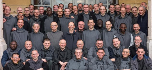Photo de groupe de frères de Saint Jean