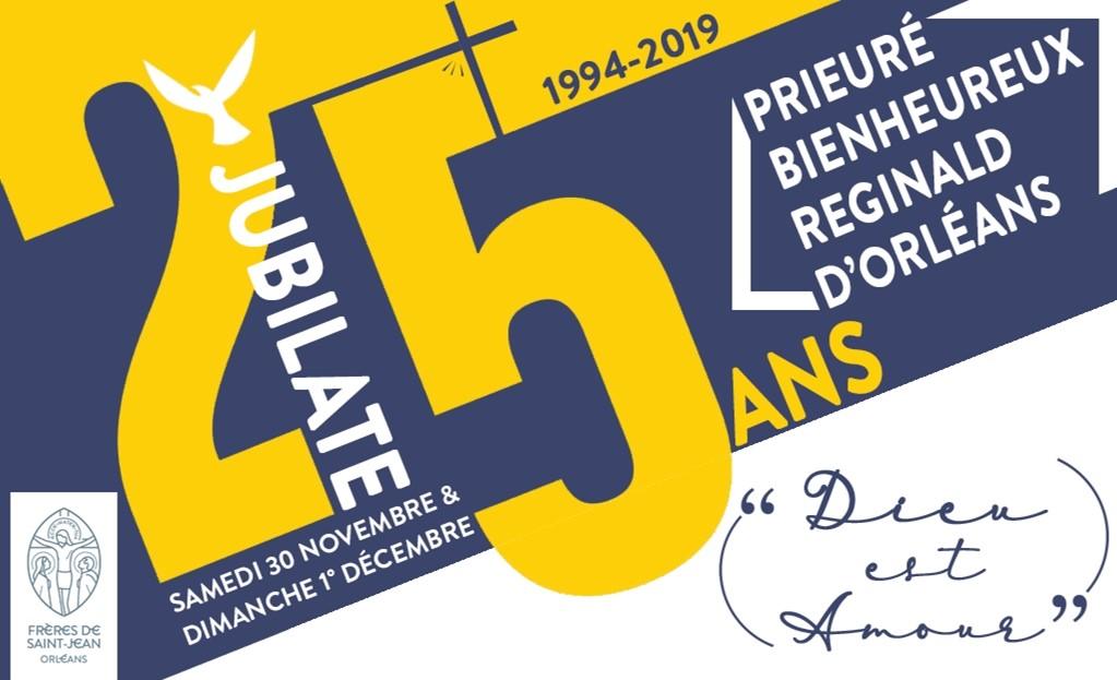 25 year jubilee orléans