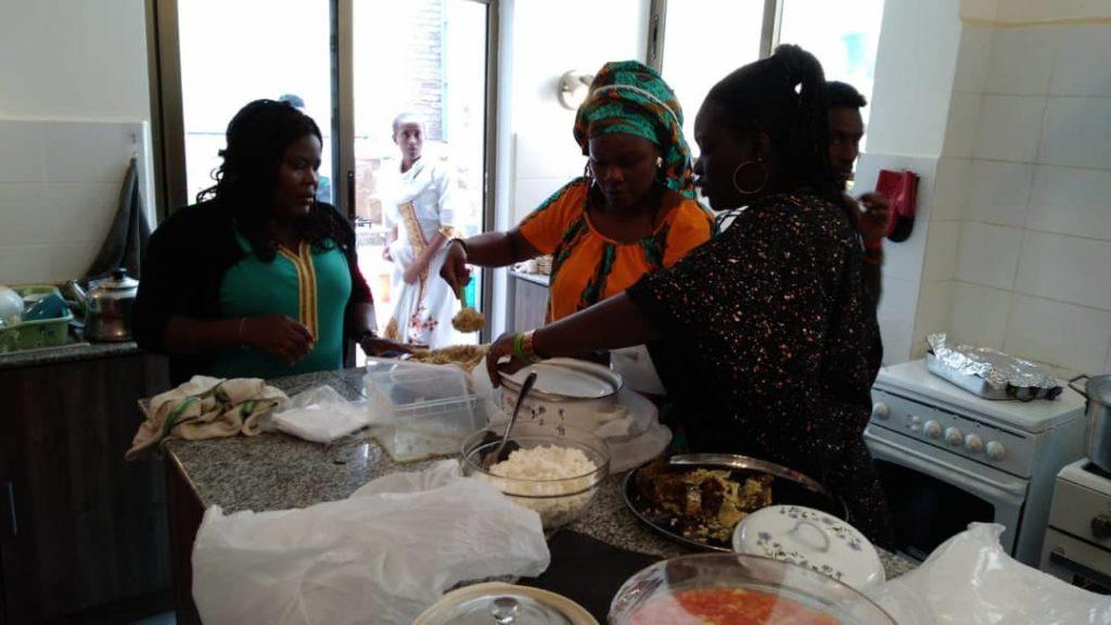 Festivities in Addis Abeba (Ethiopia)